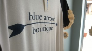 Blue Arrow Boutique Shirt